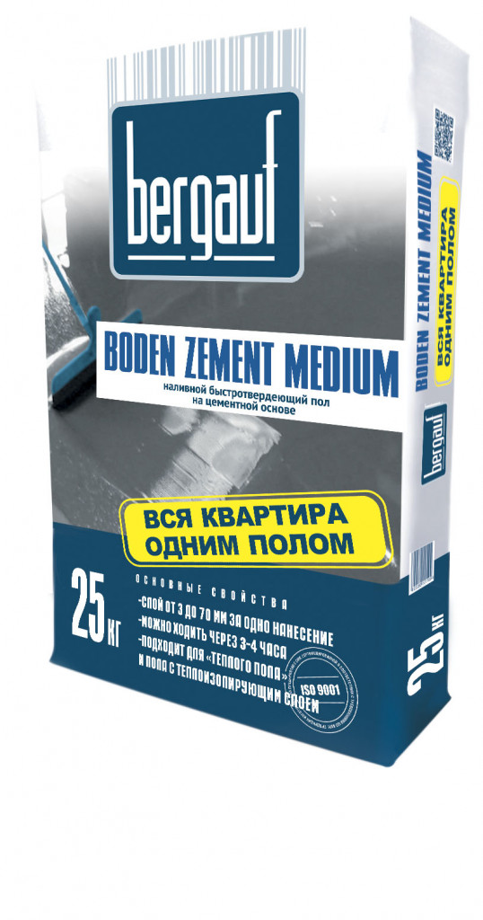 Boden Zement Medium